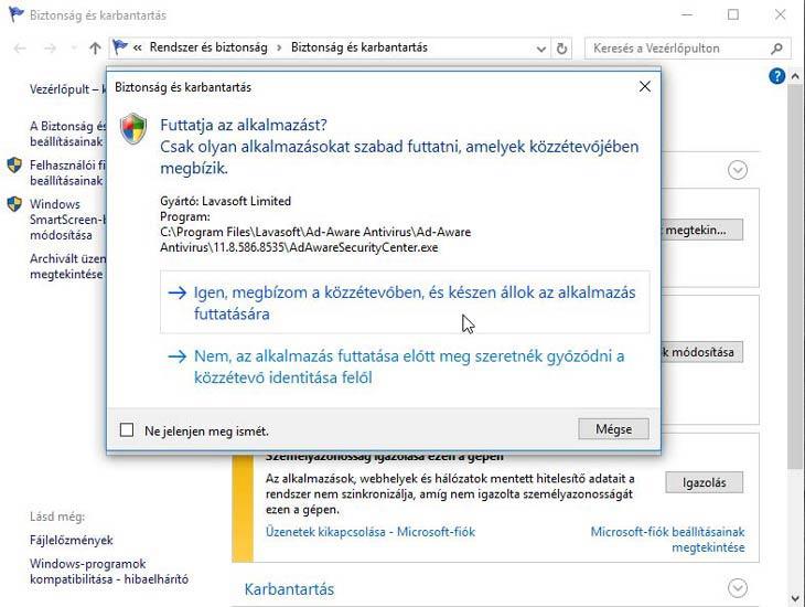 Ad-Aware Free Antivirus+ megbízunk benne