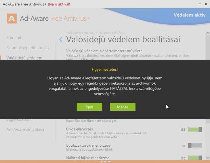 Ad-Aware Free Antivirus+ lassít
