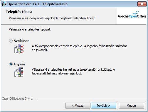 Apache OpenOffice testreszabás