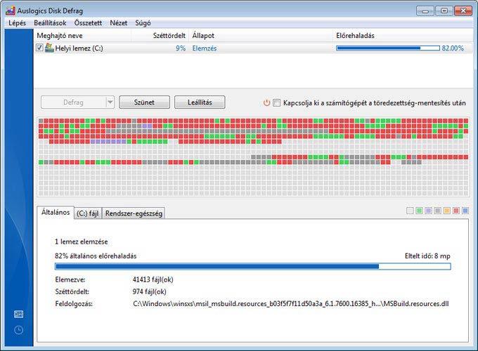Auslogics Disk Defrag 4