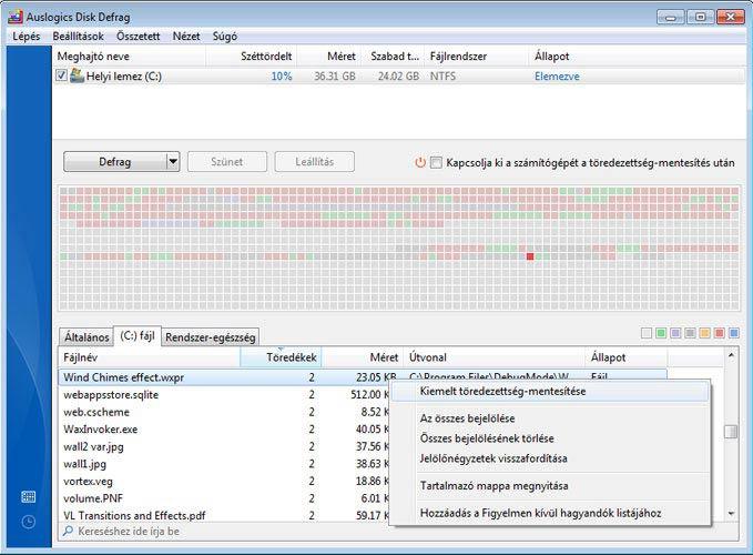 Auslogics Disk Defrag 5