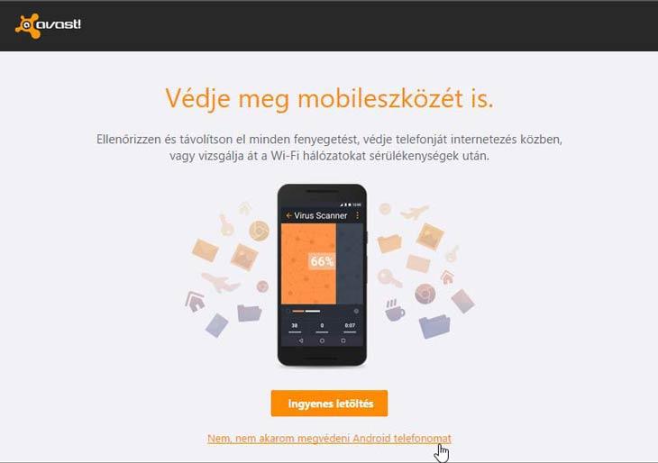 Avast! mobilra