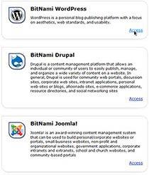 BitNami XAMPP alkalmazás