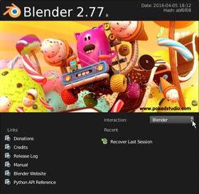 A Blender magyar nyelvűre állítása