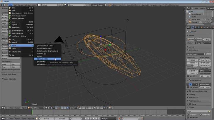 Blender 3D Studio