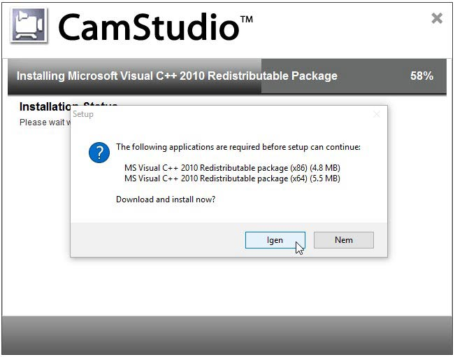 Camstudio Visual C++