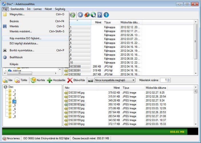 CDBurnerXP ISO