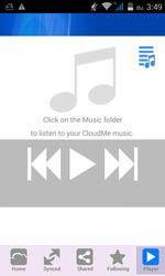 Itt hallgathatjuk a CloudMe-be feltöltött zenéinket.