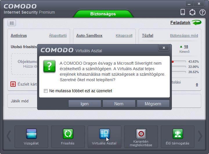Comodo Internet Security Dragon