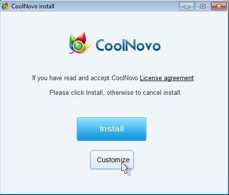 CoolNovo böngésző