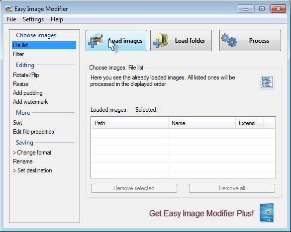 Easy Image Modifier - képszerkesztő
