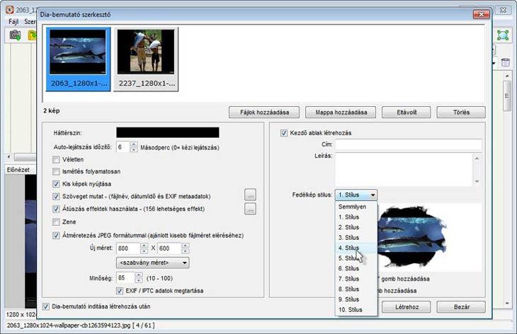 FastStone Image Viewer Dia-bemutató