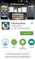 Telepítsük a FilesAnywheret Androidra