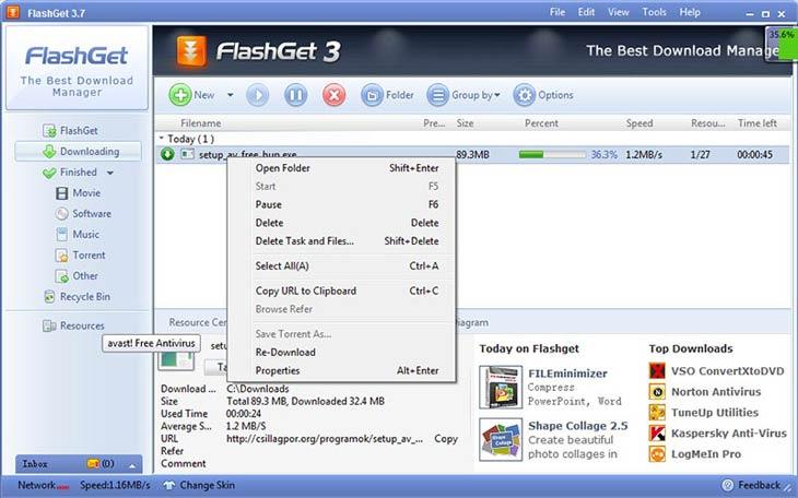 FlashGet letöltés