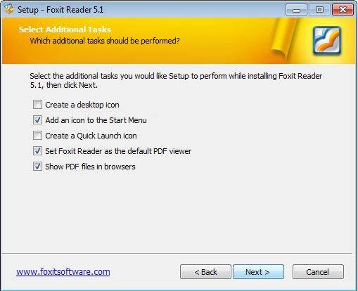 Foxit Reader PDF olvasó