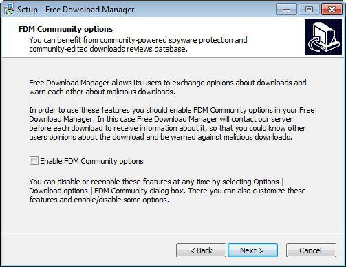 Free Download Manager telepítés