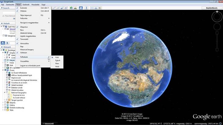 Google Föld felfedezés
