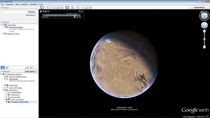 Google Föld Hold