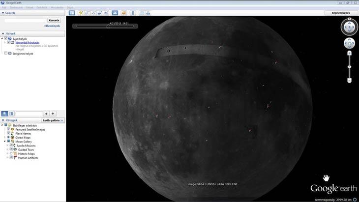 Google Föld Mars