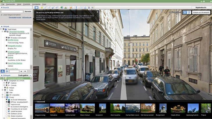 Google Föld Budapest utcanézet