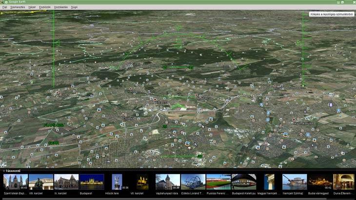 Google Föld repülőgép