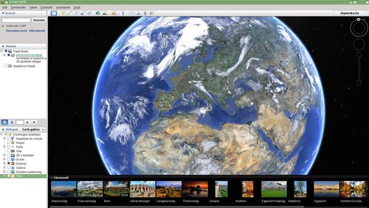 Google Föld időjárás