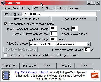 HyperCam avi