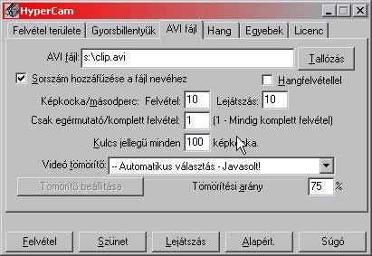 HyperCam avi magyar