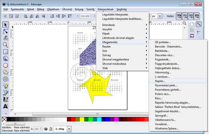 Inkscape kiterjesztései