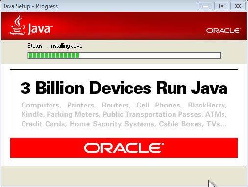 Java JRE - 3 millió eszköz