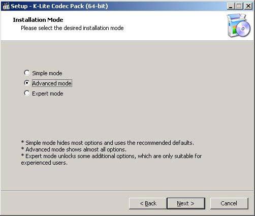 K-Lite Codec Pack 64-bit