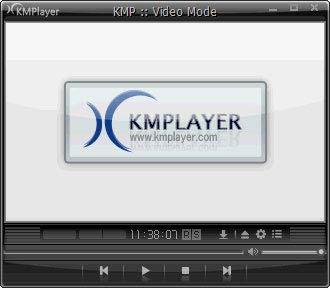 KMPlayer klasszikus felület