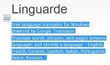 Linguarde kurzor fordítás