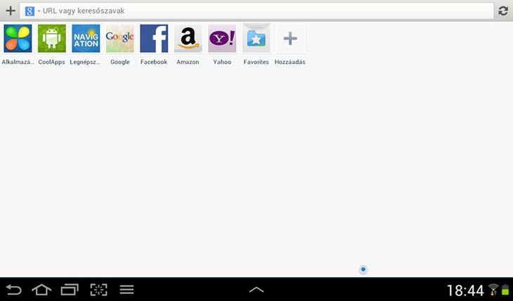 Maxthon for Android alkalmazások