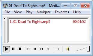 Media Player Classic audio