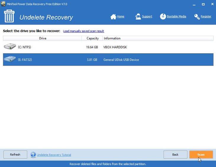Power Data Recovery lemezek