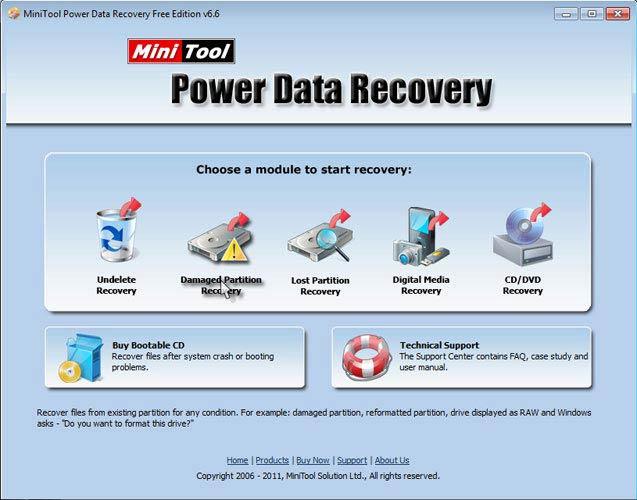 Power Data Recovery fájlok