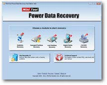 Power Data Recovery Free Edition