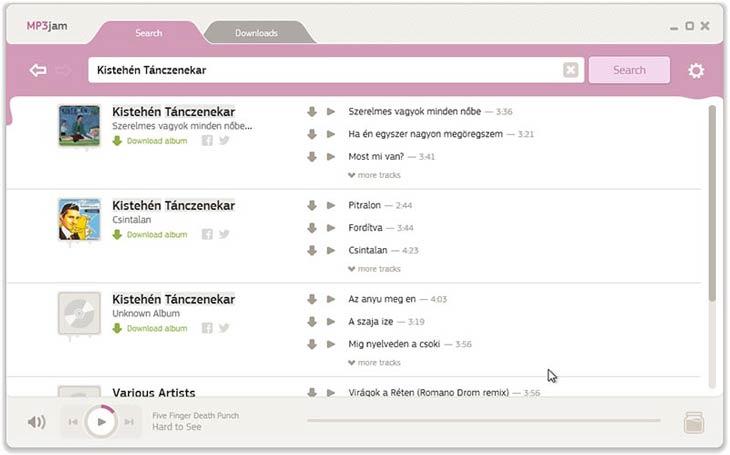 MP3jam magyar