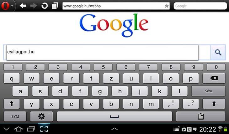 Opera mini Google