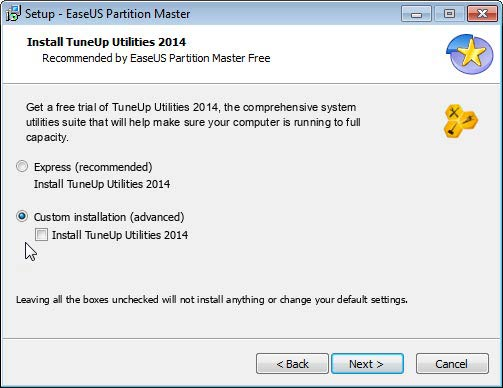 Partition Master TuneUp
