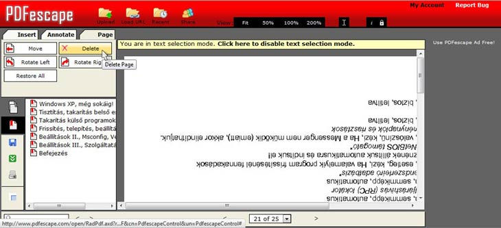 PDFescape 6