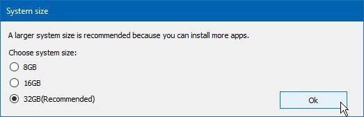 Remix OS 3 mekkora legyen a lemezkép fájl