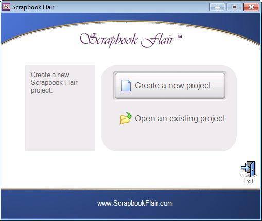 Scrapbook Flair projekt