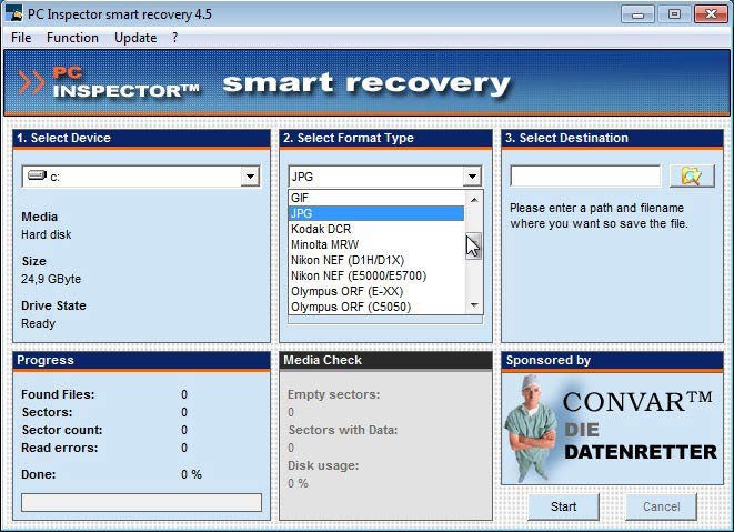 Smart Recovery formátum