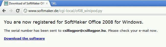 SoftMaker Office letöltés