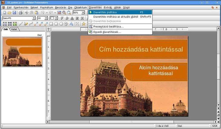 SoftMaker Office Presentations