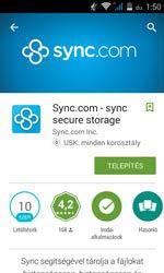 Ezt a Sync alkalmazást kell Androidra telepíteni