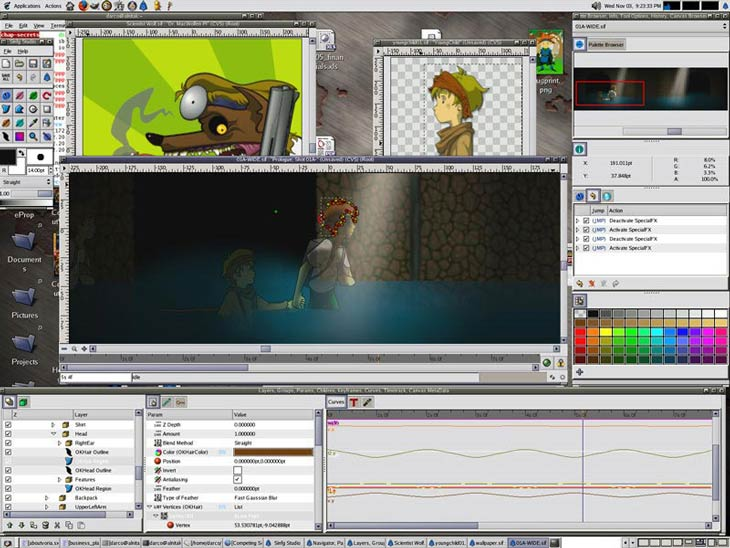 Synfig Animation Studio Linux