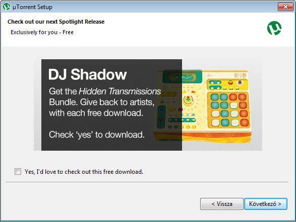 µTorrent DJ Shadow